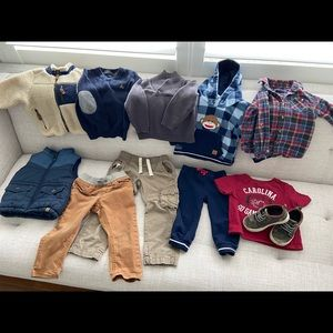 Toddler boy clothes 12-24 months